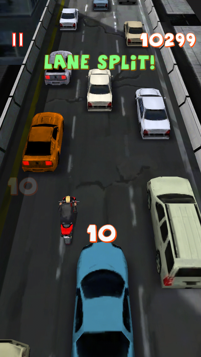 Lane splitter (обновлено до версии 310)