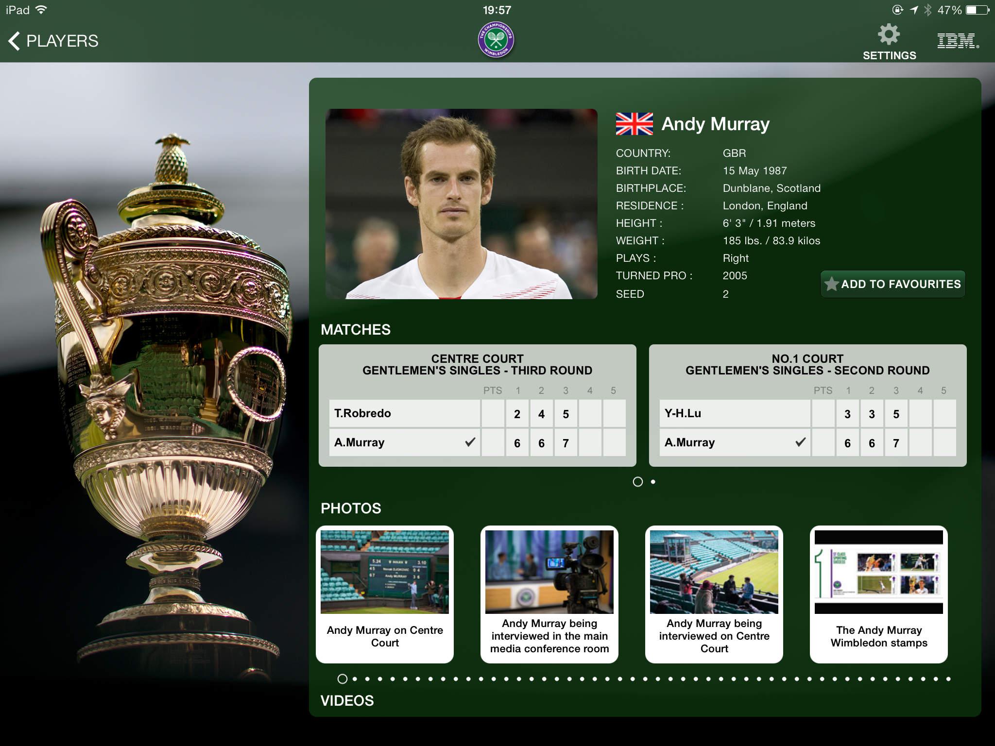The Championships, Wimbledon 2015 - Grand Slam Tennis