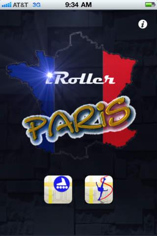 iRoller Paris, the only app with skate statistics, calories consumed Screenshot
