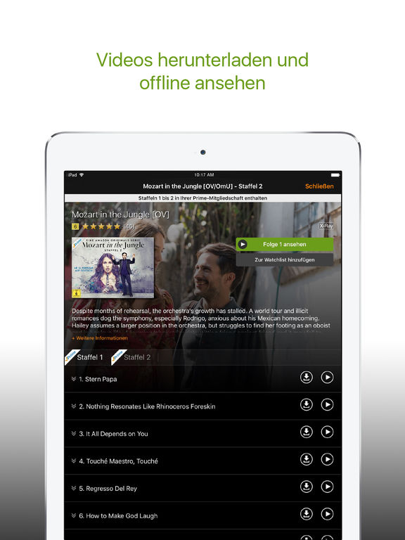 Amazon Video App Deutsch