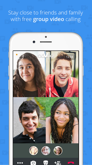 ooVoo – Free Video Call, Text and Voice Screenshot