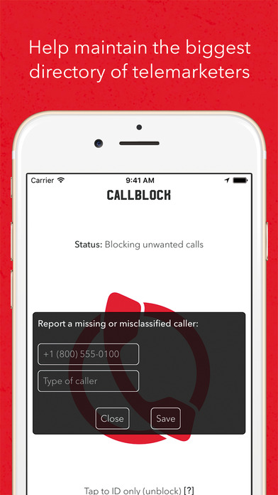 Callblock: Adblock for unwanted calls Screenshot