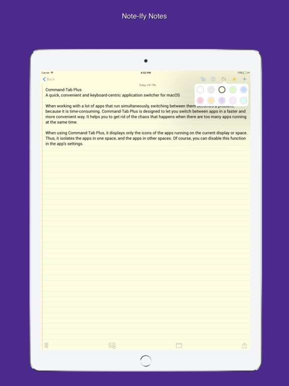Note-Ify Notes Screenshots