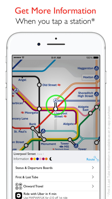 Tube Map - London Underground Routes Screenshot