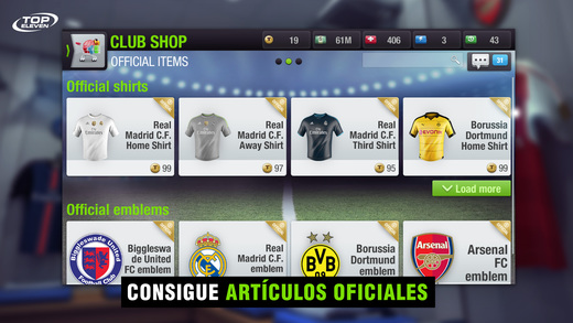 Top Eleven 2017 - Entrenador de Fútbol Screenshot