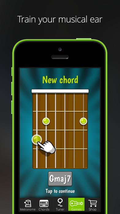 GuitarTuna – Tuner for Guitar, Bass and Ukulele Screenshot