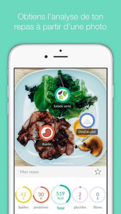 foodvisor compteur de calories dans l app store. Black Bedroom Furniture Sets. Home Design Ideas