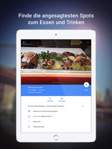 Google Maps – Navigation, Bus, Bahn & Verkehr Screenshot
