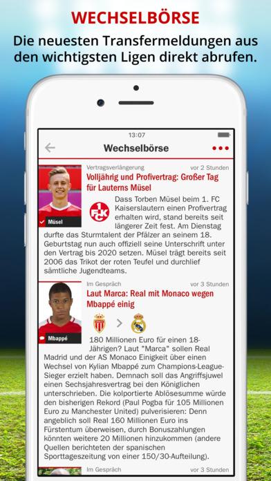 FuГџball App Iphone