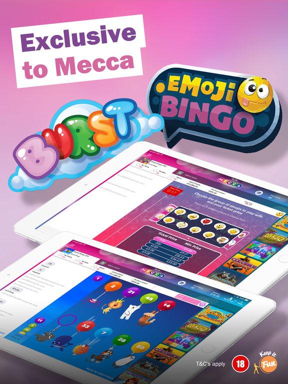 Free Slots Games Mecca Bingo