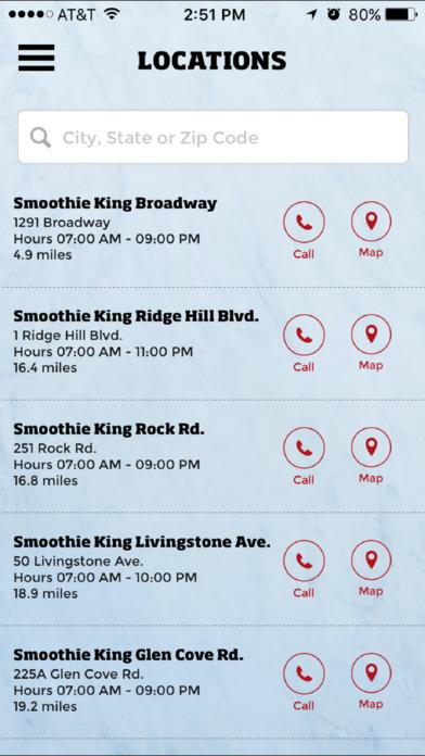 Smoothie King Rewards Screenshot