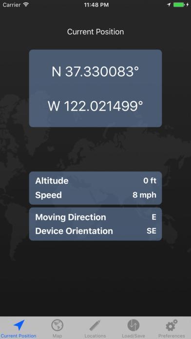 GPS Tour Screenshot