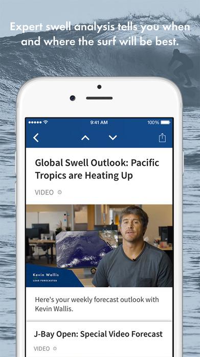 Surfline- Hurricane, Ocean, Tide, Surf, Swell Info Screenshot