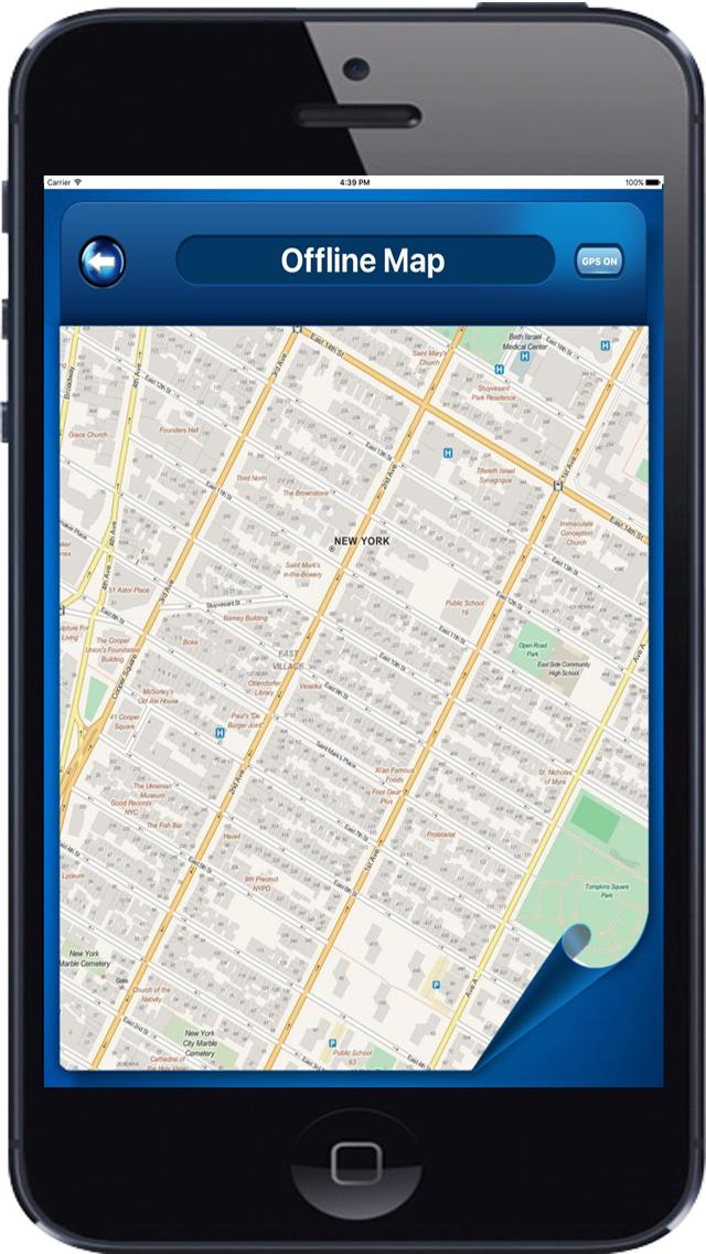 Iphone Map Of New York Offline.New York Usa Offline Maps Navigation Directions Bei Vidur It