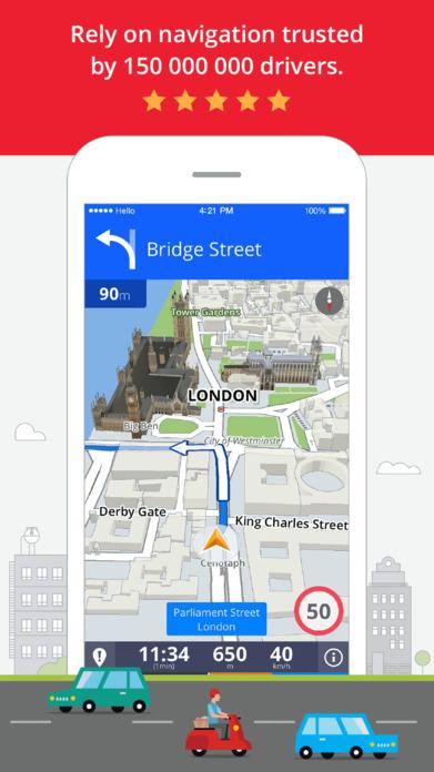 Sygic: GPS Navigation, Offline Maps, Traffic Screenshot
