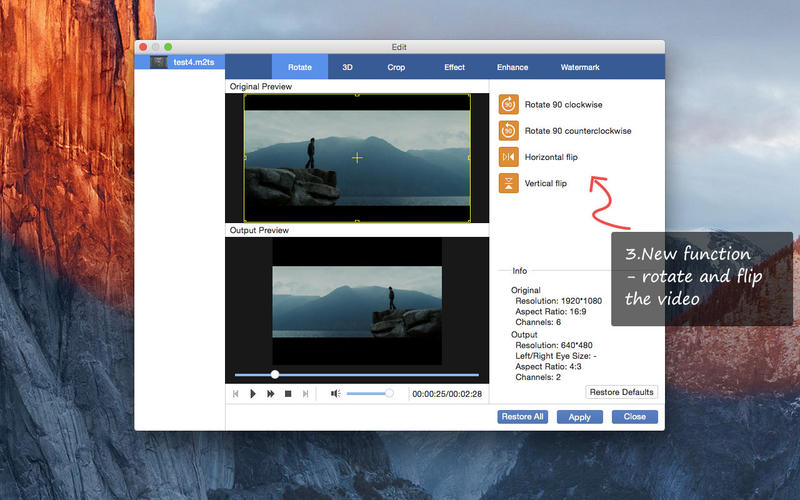 AnyMP4 M2TS Converter-Free Screenshot