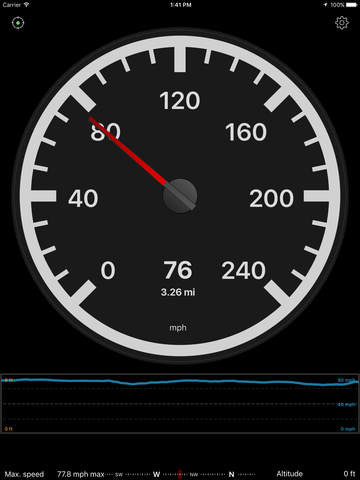 Speedometer Speed Box Screenshot