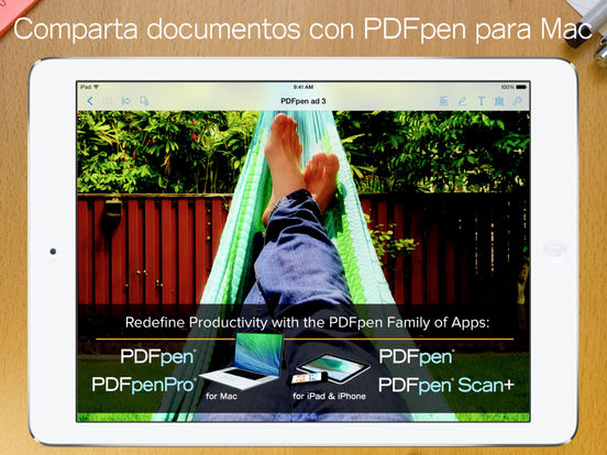 PDFpen 2: marque, edite y firme documento PDF Screenshot