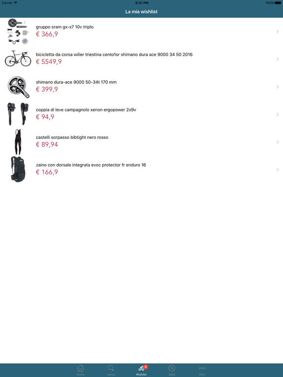 Bike Shop Italia Negozio di ciclismo online on the App Store