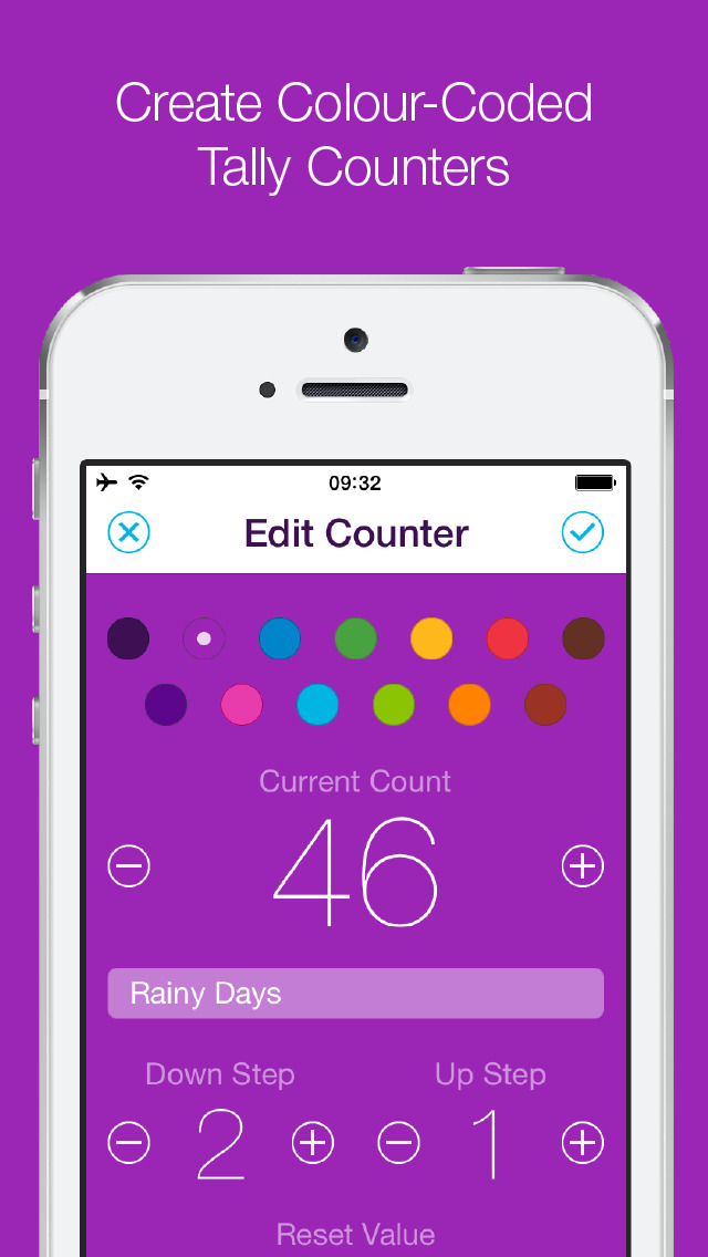 Counters• - Colourful Tally Counter for Simply Keeping Count of Things screenshot-3