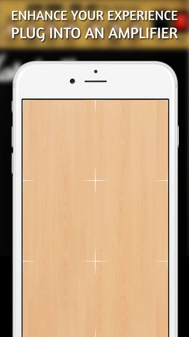 Cajon . Realistic percussion instrument in your pocket Screenshot