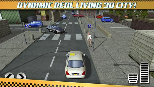 taxi parking simulator gratuit jeux de voiture de course pour iphone ipod touch et ipad dans. Black Bedroom Furniture Sets. Home Design Ideas