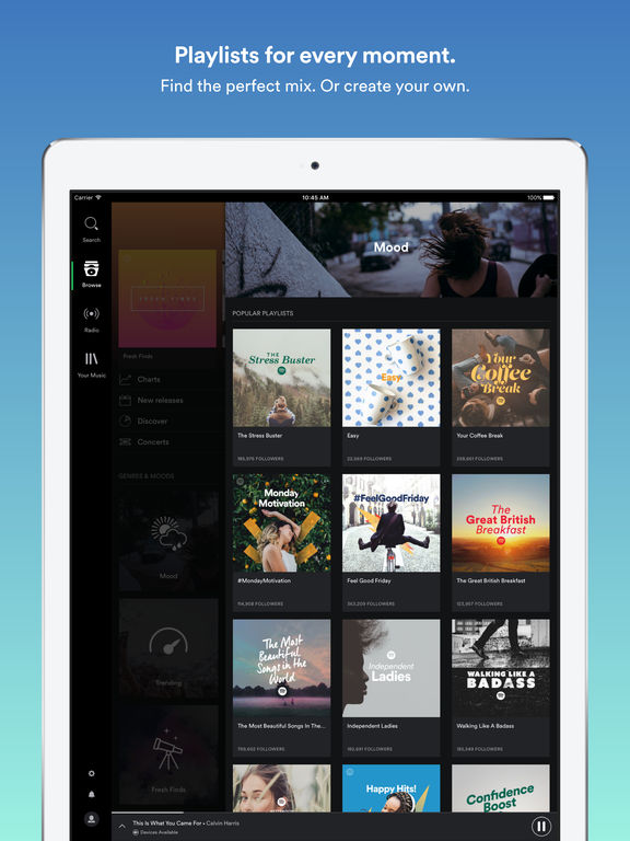 Spotify: Listen To & Stream Music for Free Screenshot