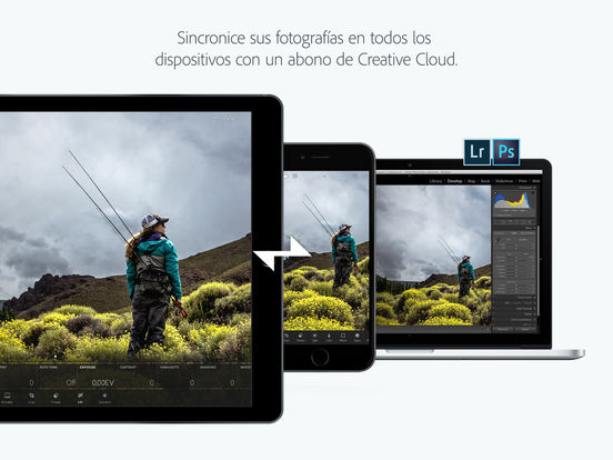 Adobe Photoshop Lightroom for iPad Screenshot