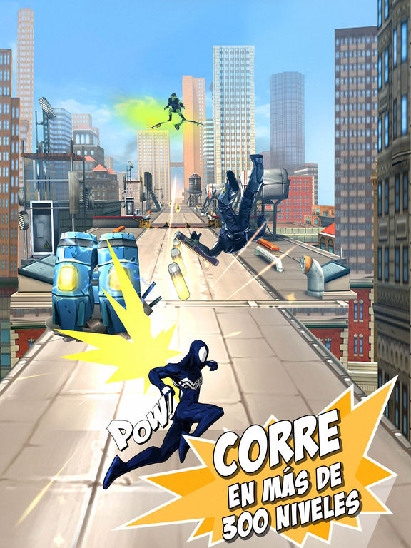 Spider-Man Unlimited Screenshot