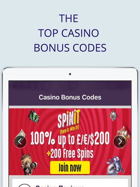 best casino bonus codes
