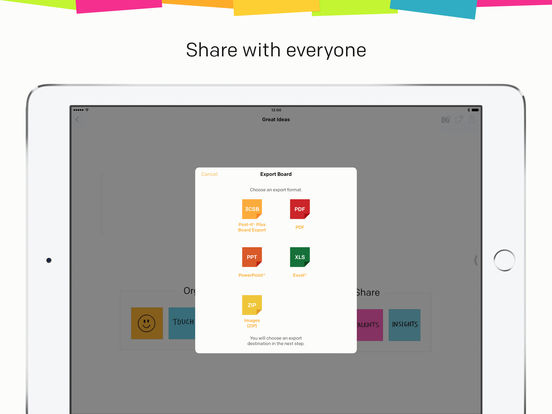 Post-it® Plus Screenshot