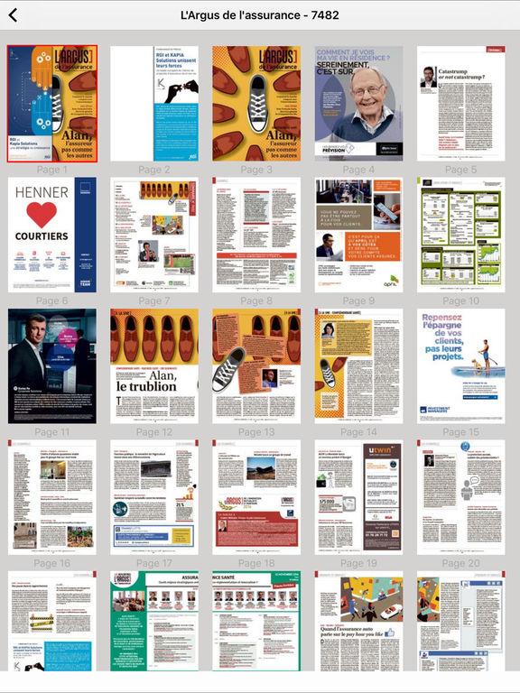 l 39 argus de l 39 assurance num rique dans l app store. Black Bedroom Furniture Sets. Home Design Ideas