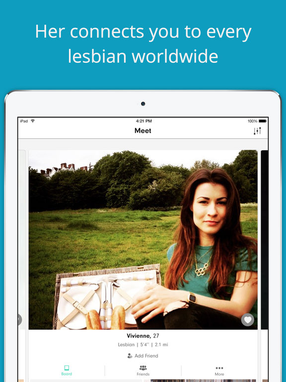 Lesbian dating chat on itunes app