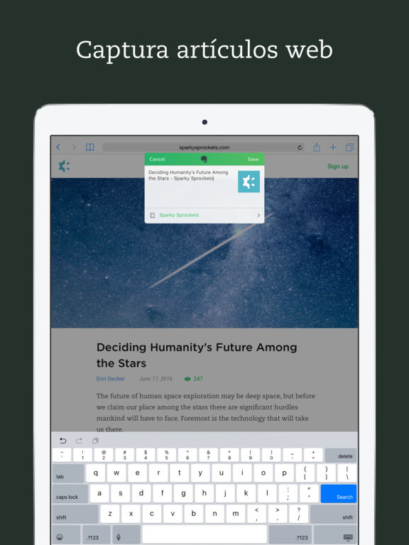 Evernote - mantente organizado Screenshot