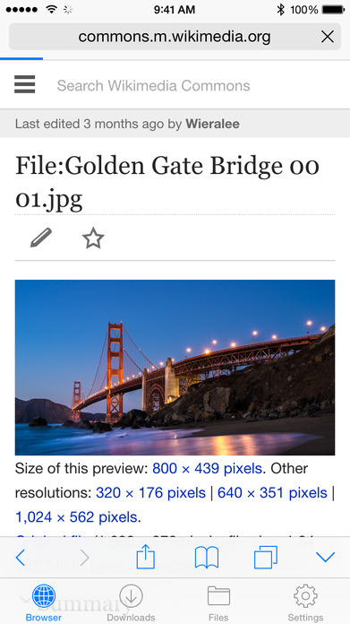 Files - File Manager & Web Browser Screenshot