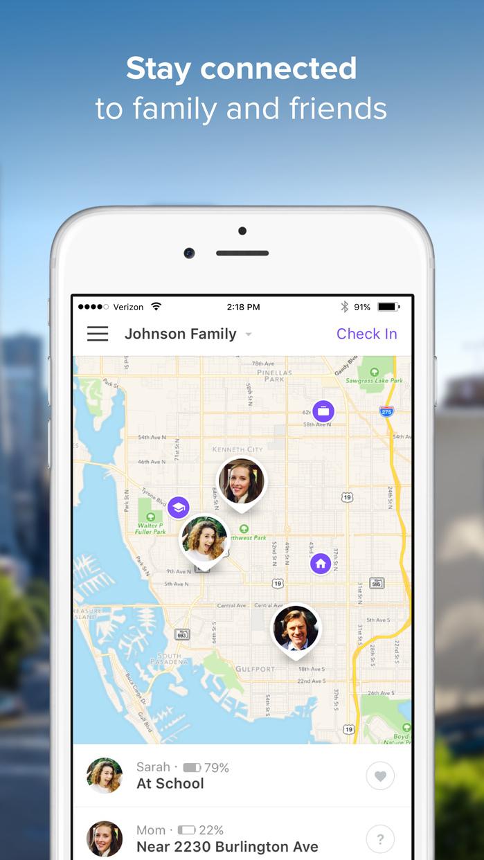 Find My Family, Friends & Phone - Life360 Locator Screenshot