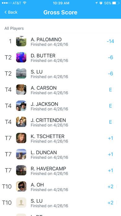 18Birdies: Golf GPS, Scorecard, Stats & Tournament Screenshot