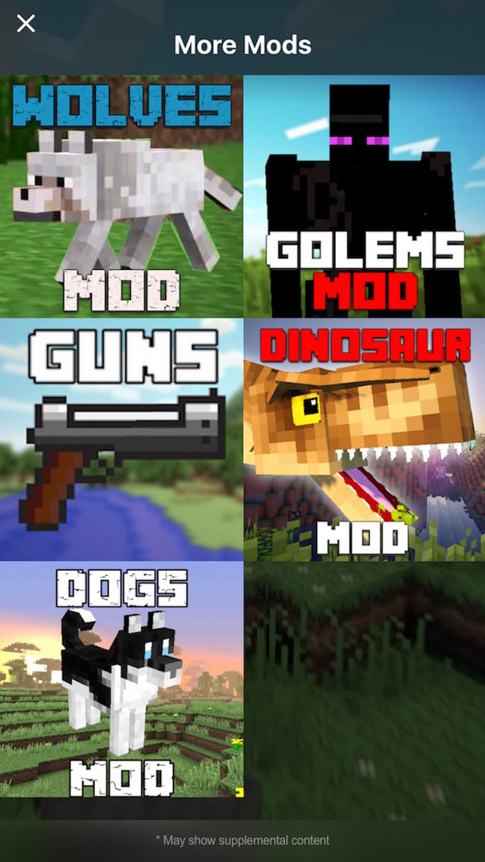 GUNS MODS for Minecraft PC Edition - Mods Tools Screenshot