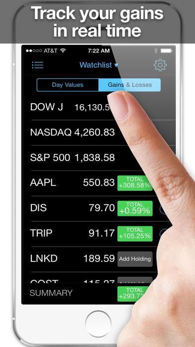 stock market app stock tracker real time stocks revenue