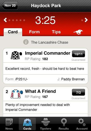 Racing Post App