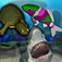 """One of the only fish aquariums in the app store to feature a mix of turtles, sharks, and koi, Aquatica will have you watching feeding frenzies as you dump food into the aquarium, your finger getting chased by the fish as you tap around the screen, and watching the fish scurry away as you jolt them with a dose of """"friendly"""" electricity"""