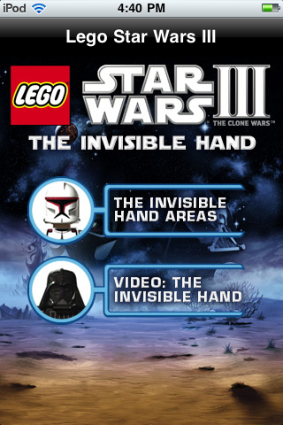 Lego Star Wars Iii The Clone Wars The Invisi Iphone