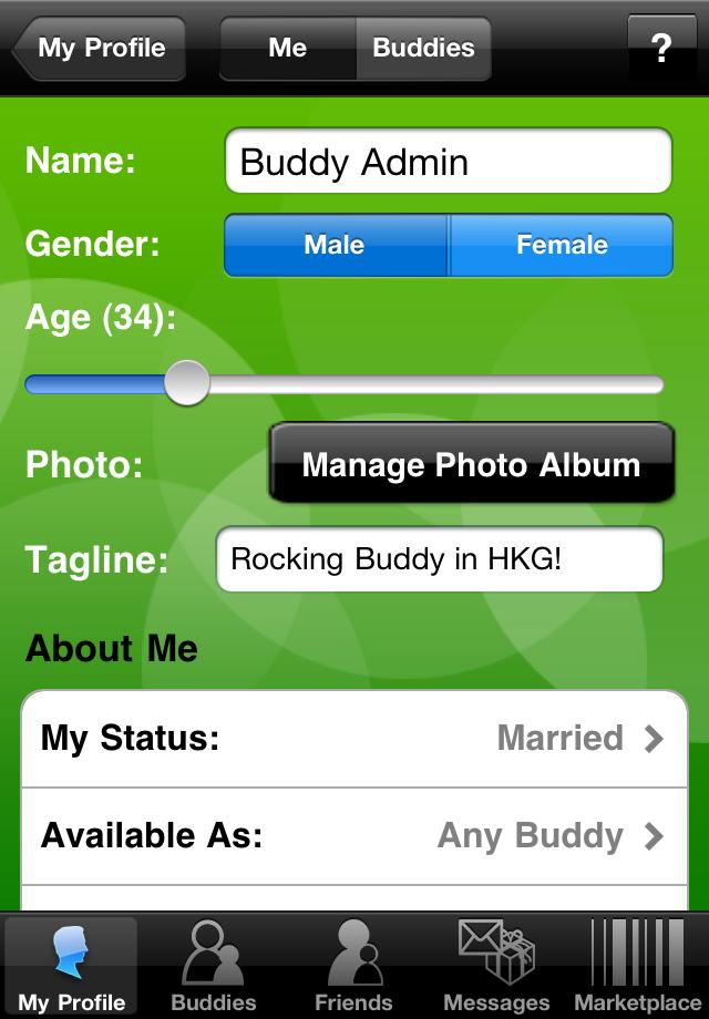 Buddy Screenshot