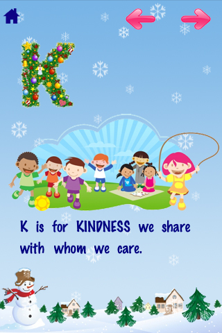 ABC Christmas Nursery Rhymes Free Lite -Talking Voice