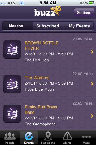 BuzzE Screenshot