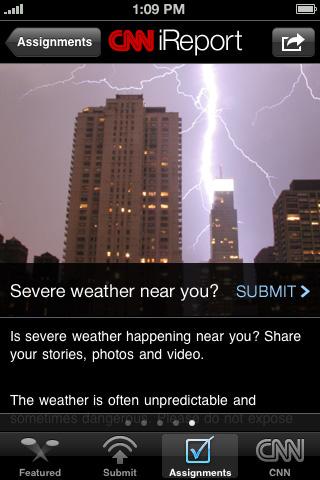 CNN App for iPhone (U.S.) Screenshot