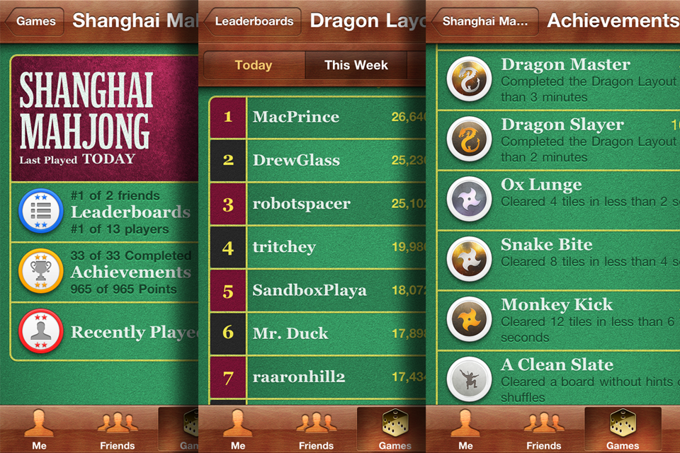 Shanghai Mahjong Screenshot
