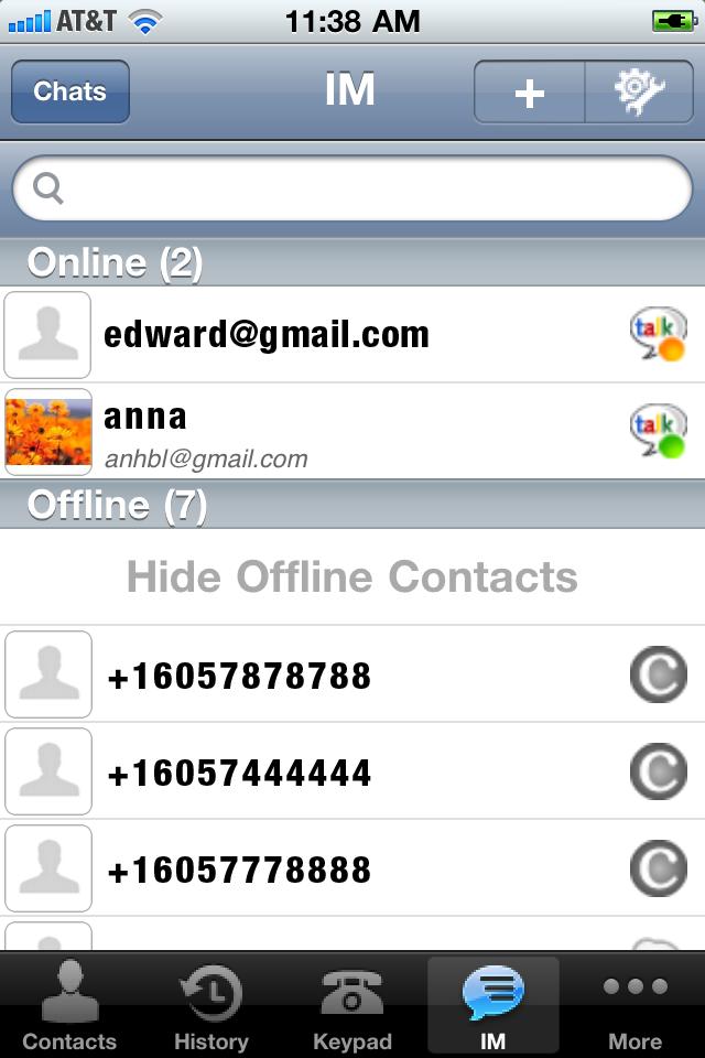 CVMobile Screenshot