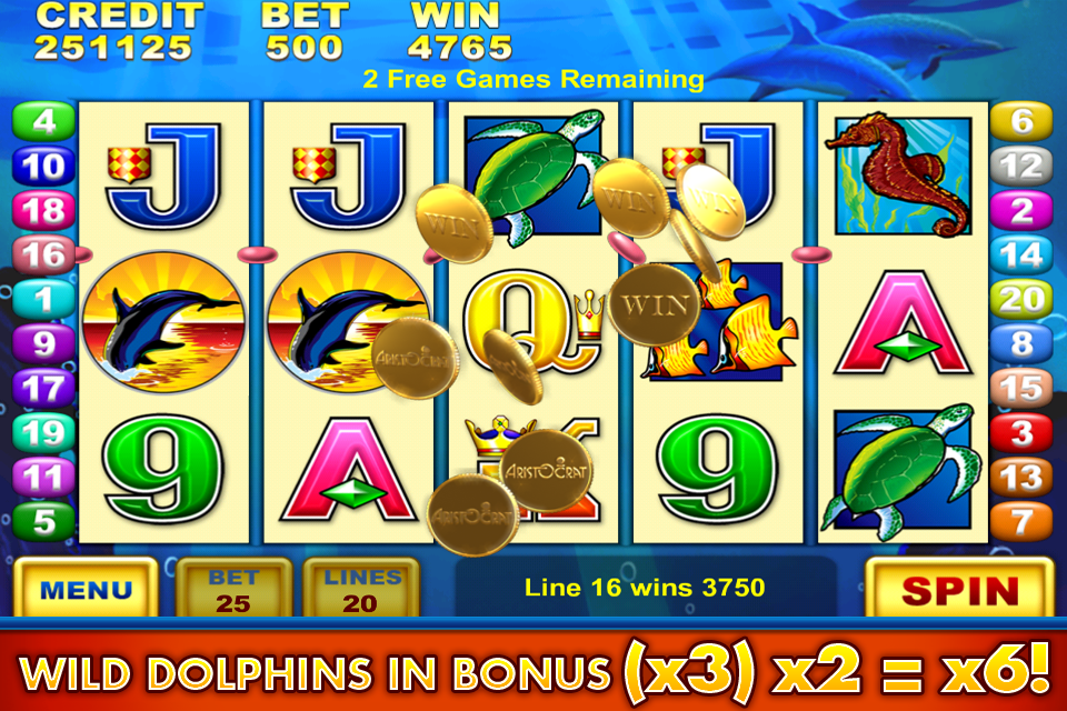 Free online slot games dolphin