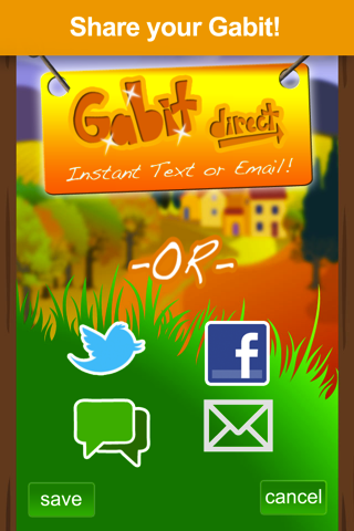 Gabit – Talking Avatar Messaging Screenshot
